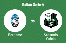 Atalanta Bergamo vs US Sassuolo Calcio