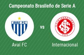 Avaí Futebol Clube vs Sport Club Internacional