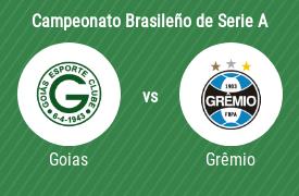 Goiás Esporte Clube vs Grêmio Foot-Ball Porto Alegrense