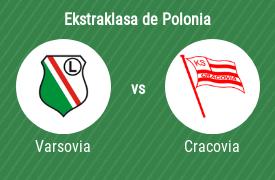 Legia de Varsovia vs KS Cracovia