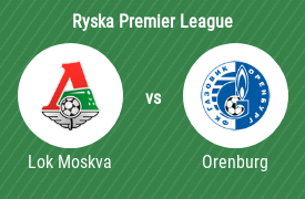 FC Lokomotiv Moskva mot Football Club Orenburg