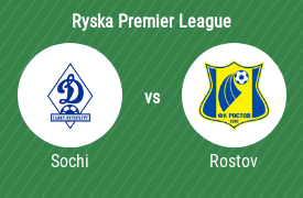 Professional Football Club Sochi mot Football Club Rostov