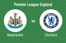 Newcastle United FC mot Chelsea FC