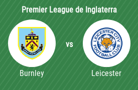 Burnley Football Club vs Leicester City FC