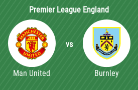 Manchester United mot Burnley FC