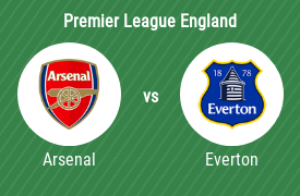 Arsenal Football Club mot Everton FC