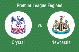 Crystal Palace mot Newcastle United FC