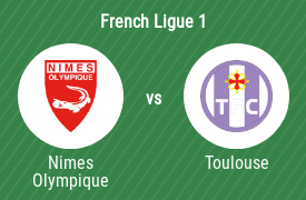 Nimes Olympique Football Club vs Toulouse Football Club
