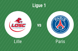 OSC Lille gegen Paris Saint Germain