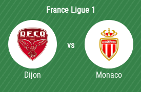Dijon FCO vs AS Monaco