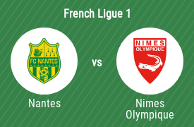 Football Club de Nantes vs Nimes Olympique Football Club
