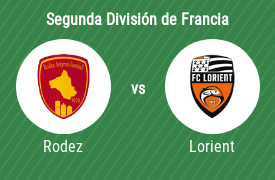 Rodez Aveyron Football vs Football Club Lorient