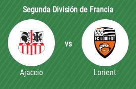 AC Ajaccio vs Football Club Lorient
