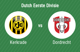 Roda JC Kerkrade vs Football Club Dordrecht