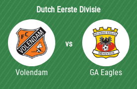 Football Club Volendam vs Go Ahead Eagles