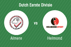 Almere City Football Club vs Helmond Sport