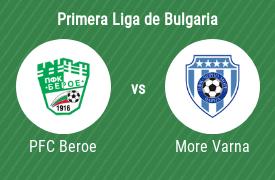 PFC Beroe Stara Zagora vs Cherno More Varna