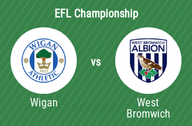 Wigan Athletic FC vs West Bromwich Albion FC