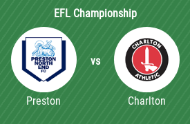 Preston North End FC mot Charlton Athletic FC