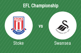 Stoke City FC mot Swansea City AFC