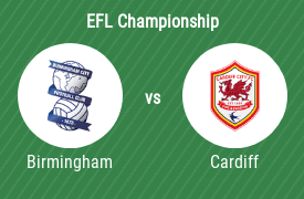 Birmingham City Football Club mot Cardiff City FC