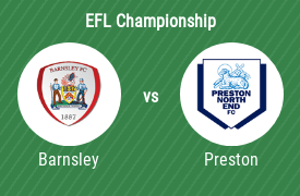 Barnsley FC mot Preston North End FC