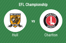 Hull City AFC vs Charlton Athletic FC