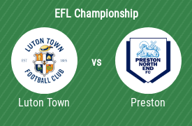 Luton Town Football Club vs Preston North End FC