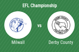 Millwall Football Club vs Derby County FC