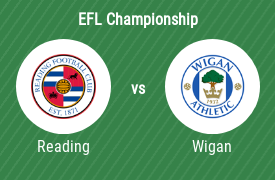Reading Football Club vs Wigan Athletic FC