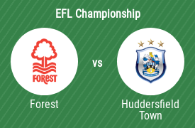 Nottingham Forest FC vs Huddersfield Town AFC