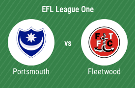 Portsmouth Football Club mot Fleetwood Town Football Club