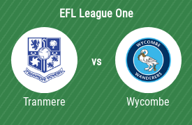 Tranmere Rovers Football Club mot Wycombe Wanderers Football Club
