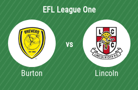 Burton Albion FC vs Lincoln City Football Club