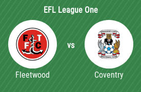 Fleetwood Town Football Club mot Coventry City FC