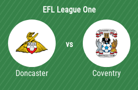 FC Doncaster Rovers mot Coventry City FC