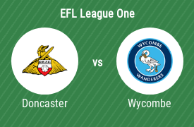 Doncaster Rovers Football Club vs Wycombe Wanderers Football Club