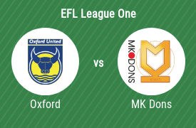 Oxford United Football Club vs Milton Keynes Dons Football Club