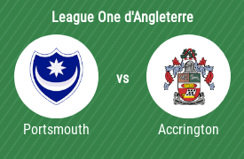 Portsmouth vs Accrington Stanley