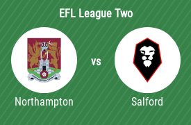 Northampton Town Football Club vs Salford City