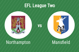 Northampton Town Football Club vs Mansfield Town Football Club