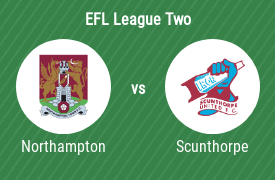 Northampton Town Football Club vs Scunthorpe United Football Club