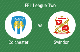 Colchester United Football Club vs Swindon Town Football Club