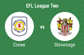 Crewe Alexandra Football Club vs Stevenage Football Club