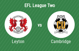Leyton Orient Football Club vs Cambridge United Football Club