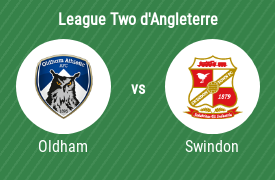 Oldham Athletic vs Swindon Town