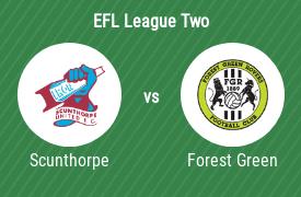 Scunthorpe United Football Club vs Forest Green Rovers Football Club