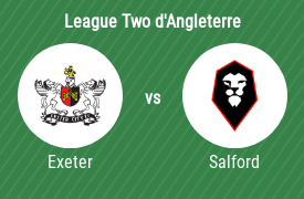 Exeter City vs Salford City