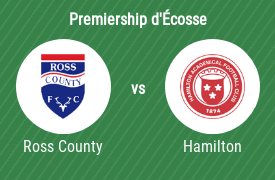 Ross County FC vs Hamilton Academical