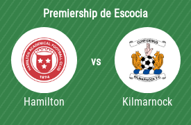 Hamilton Academical FC vs Kilmarnock Football Club
